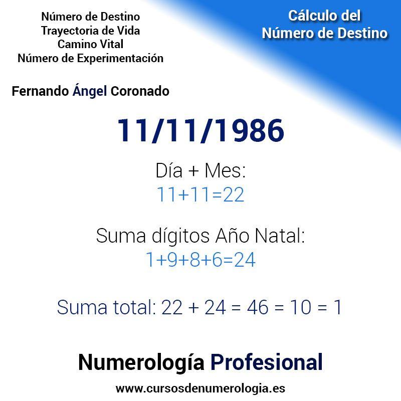calcular la numerología