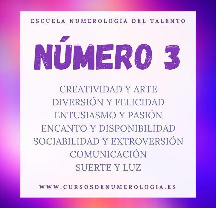significado número 3