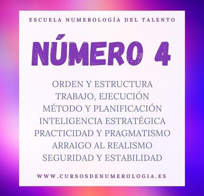 significado número 4