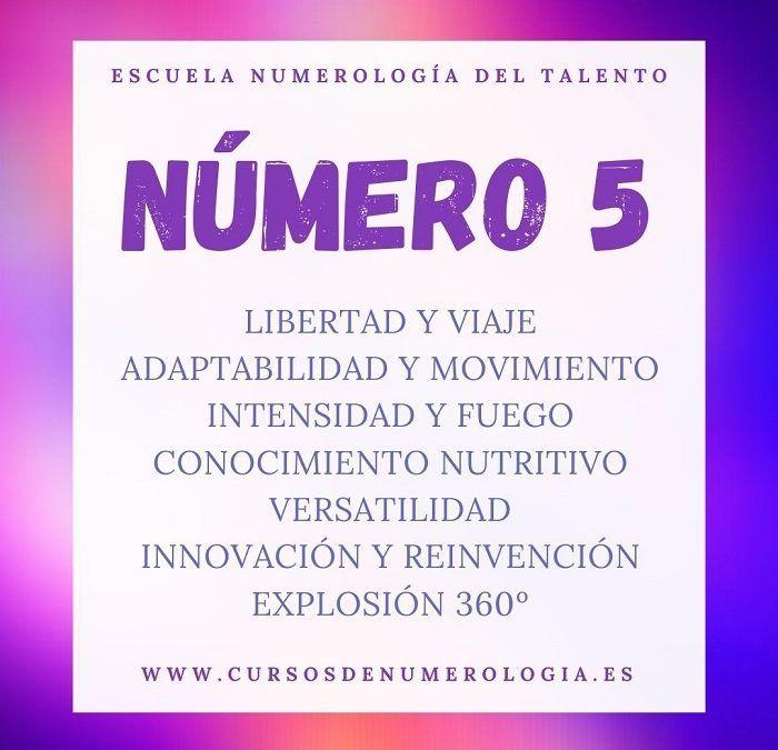 significado número 5