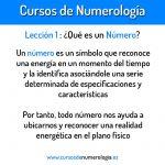 Lección 1. ¿Qué es un Número?