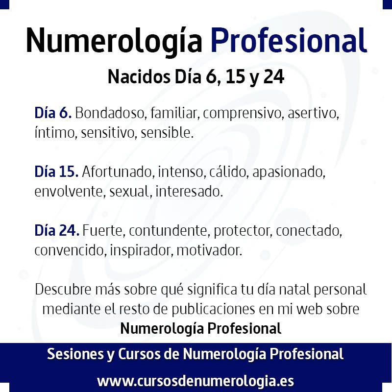numerología del número 6