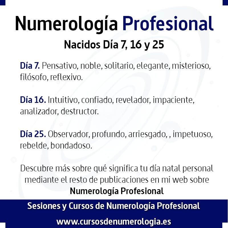 numerología del número 7