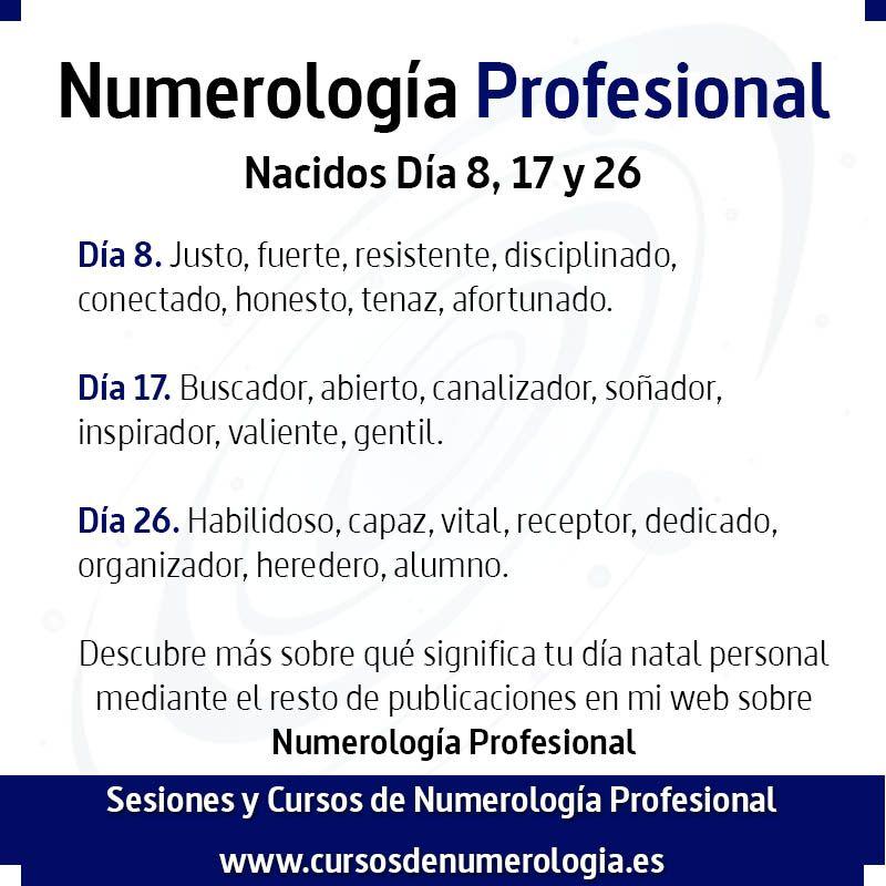 numerología del número 8