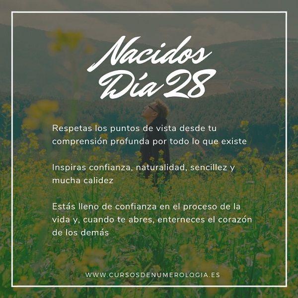 nacer un día 28