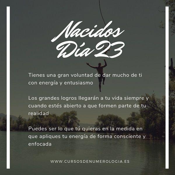 nacer un día 23