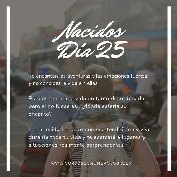 nacer día 25
