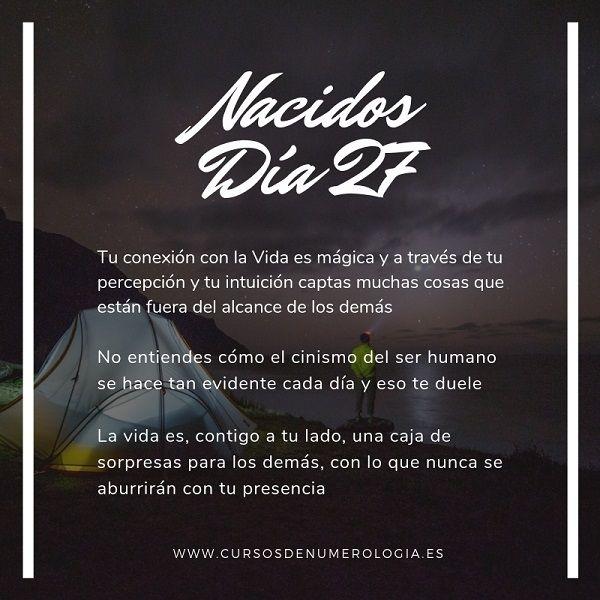 nacer dia 27