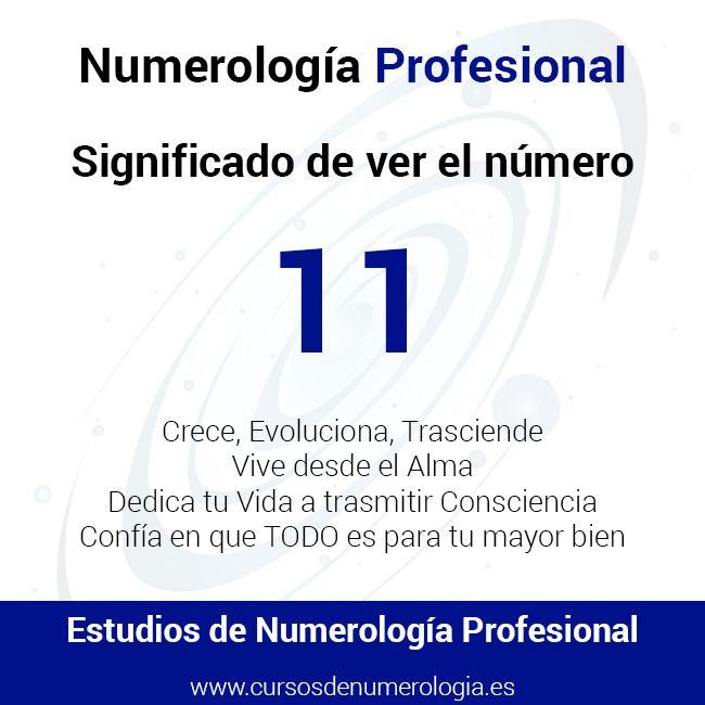 significado de ver el número 11