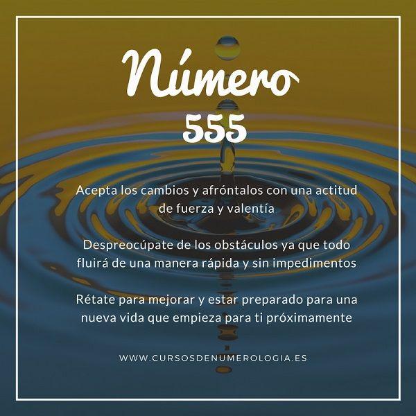 numerología 555