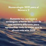 Año 2019 Para el Número 2