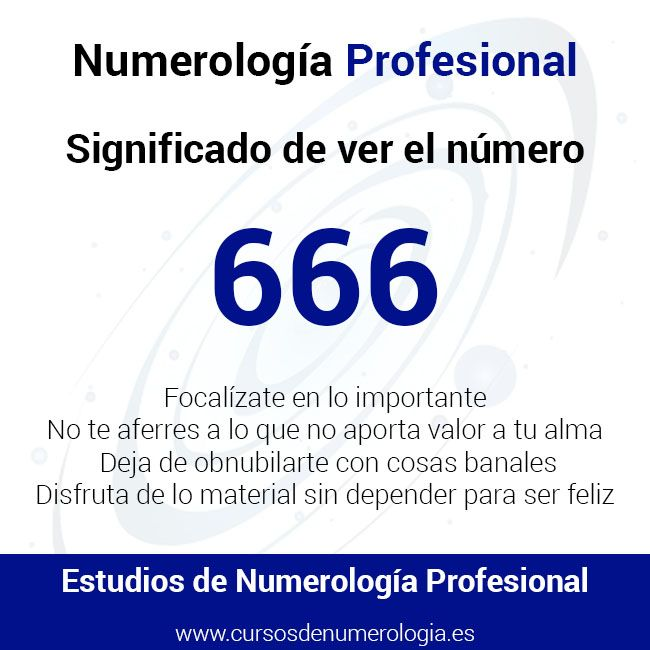 número 666