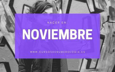 Qué significa nacer en noviembre según la Numerología