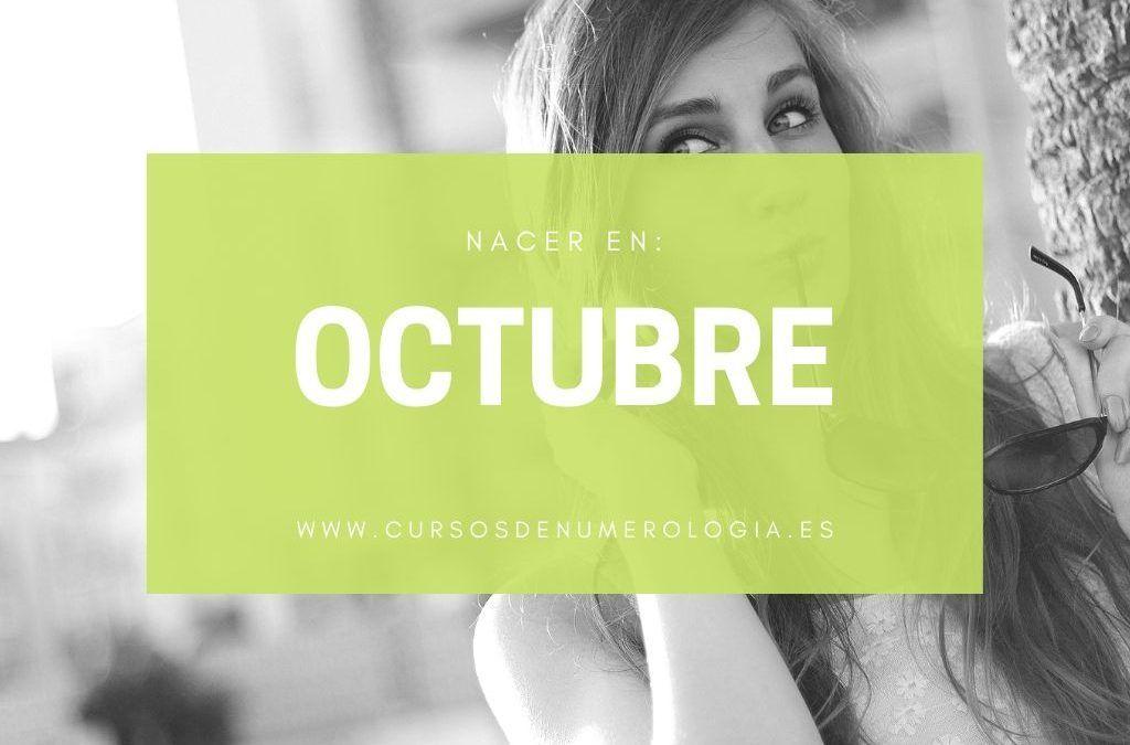Qué significa nacer en octubre según la Numerología