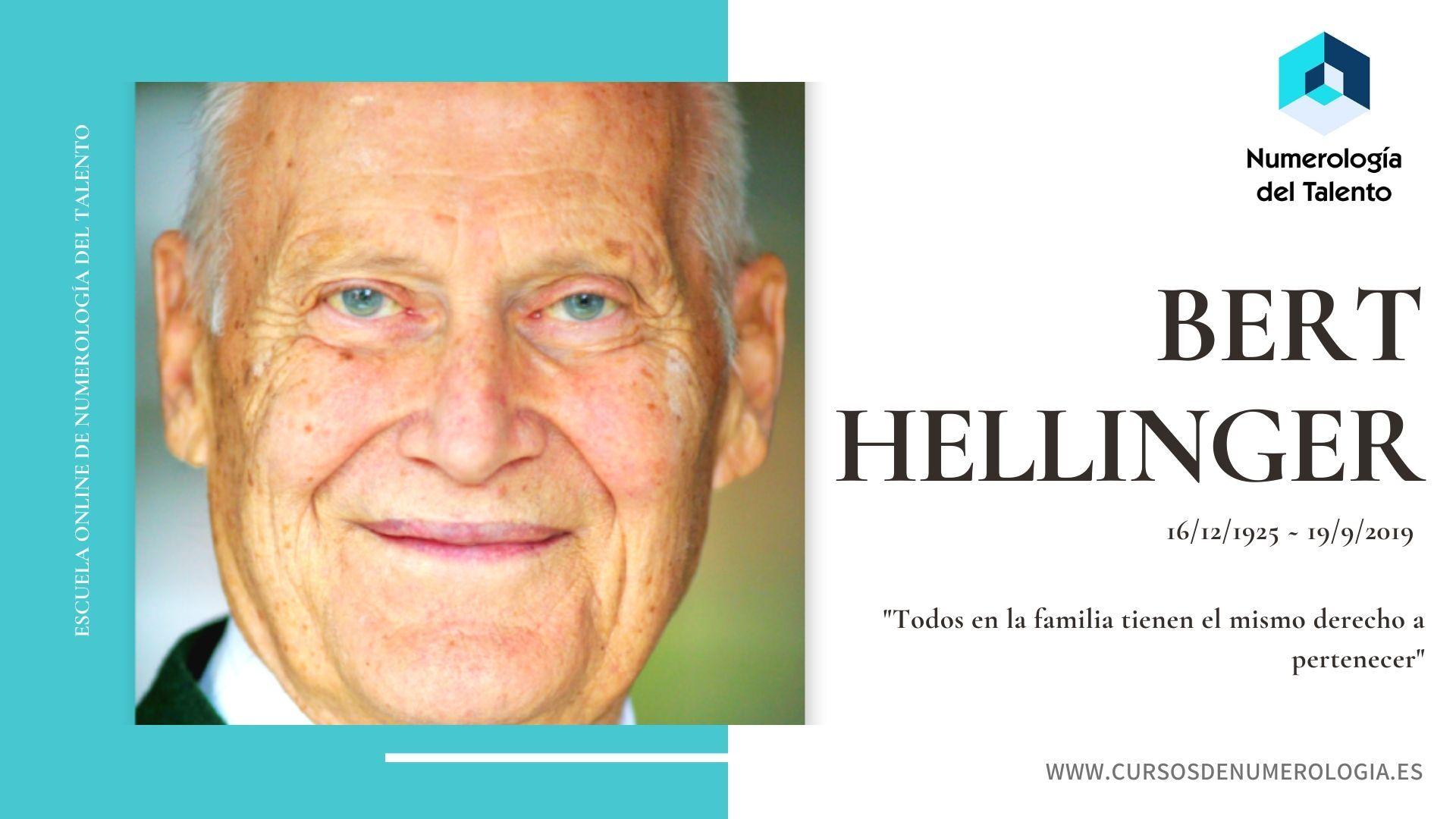 Numerología de Bert Hellinger