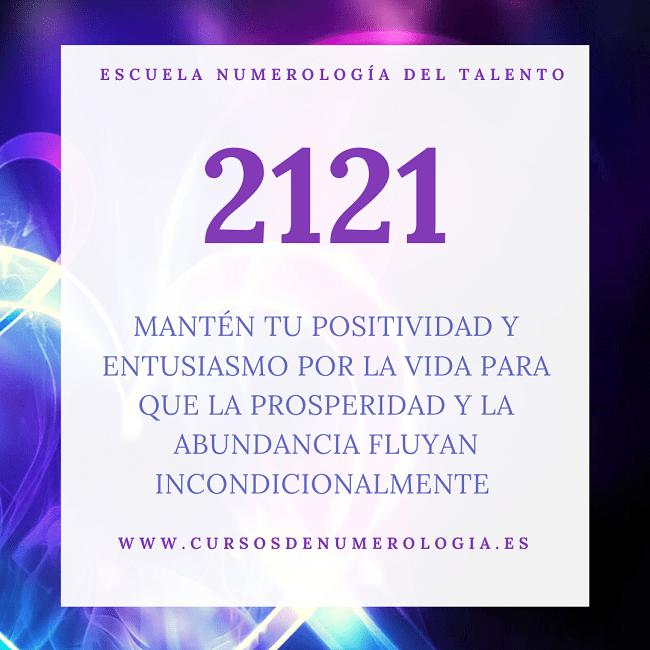 número 2121