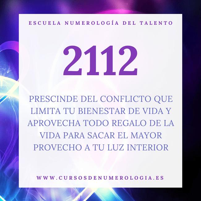 número 2112