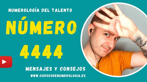 numerologia número 4444