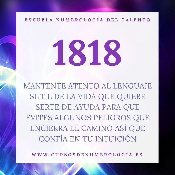 número 1818