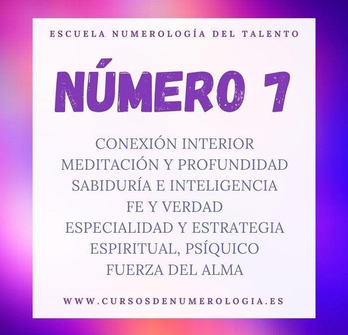 significado número 7