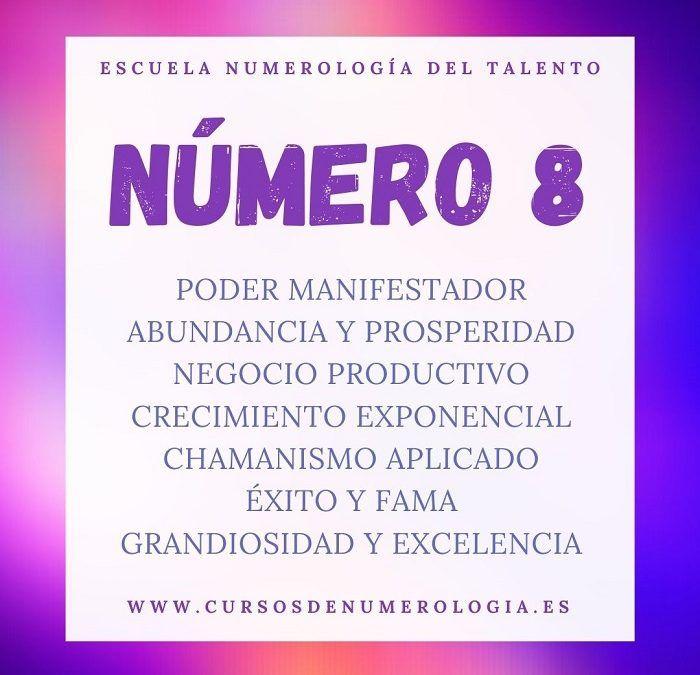 significado número 8