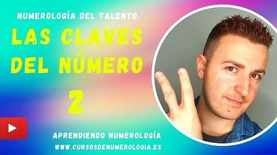 significado número 2 numerologia