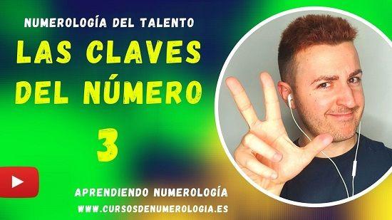 significado número 3 numerologia