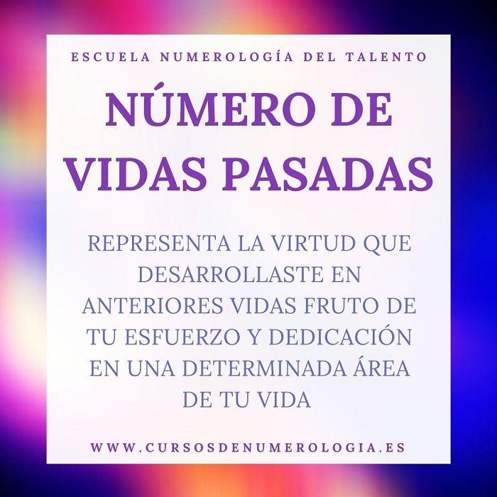 vidas pasadas en numerologia