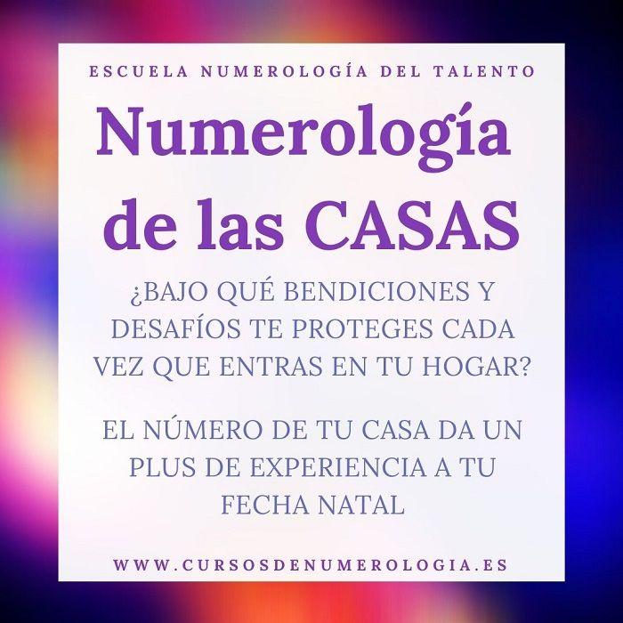 numerología de las casas