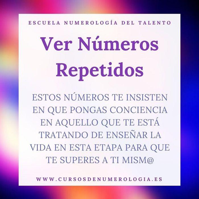 significado de ver números repetidos