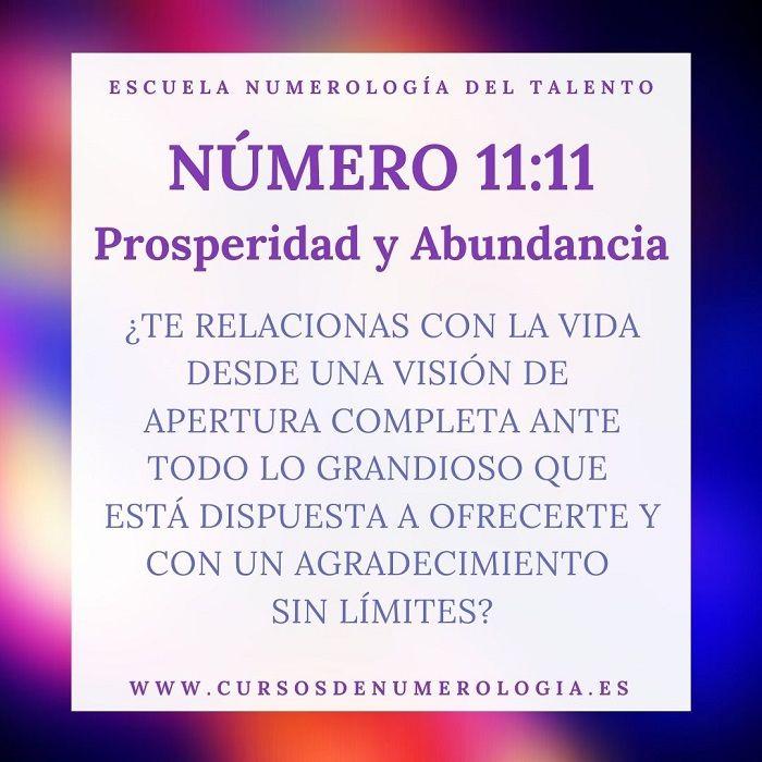 mensajes número 11:11