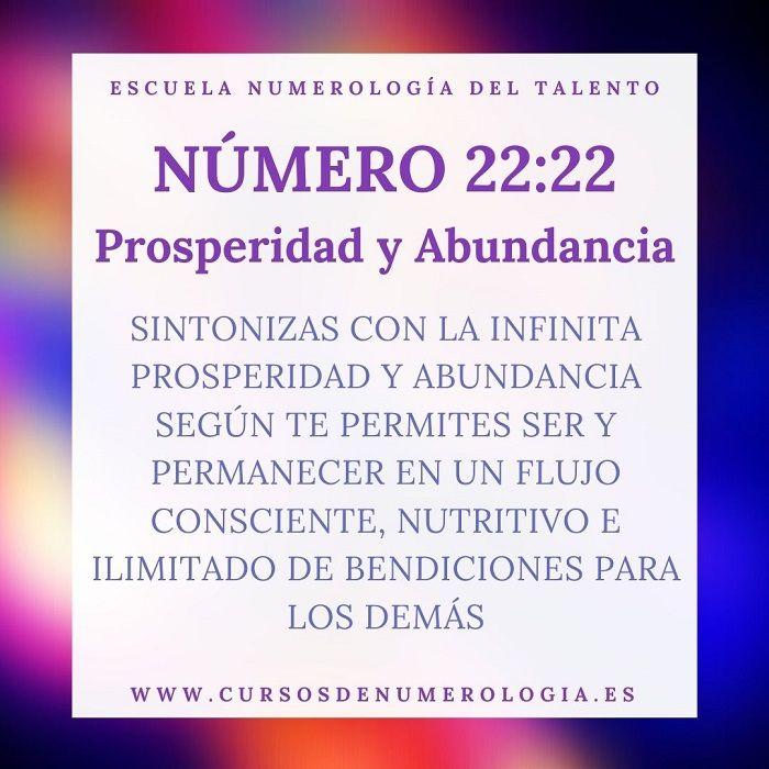 mensajes número 22:22