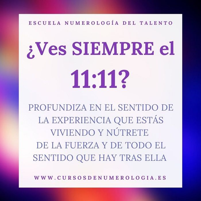 número 11:11