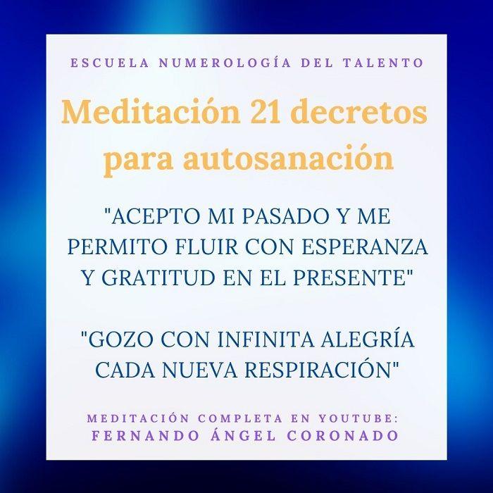 meditación para sanar tu vida