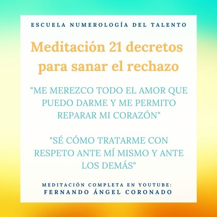 meditación para sanar el rechazo