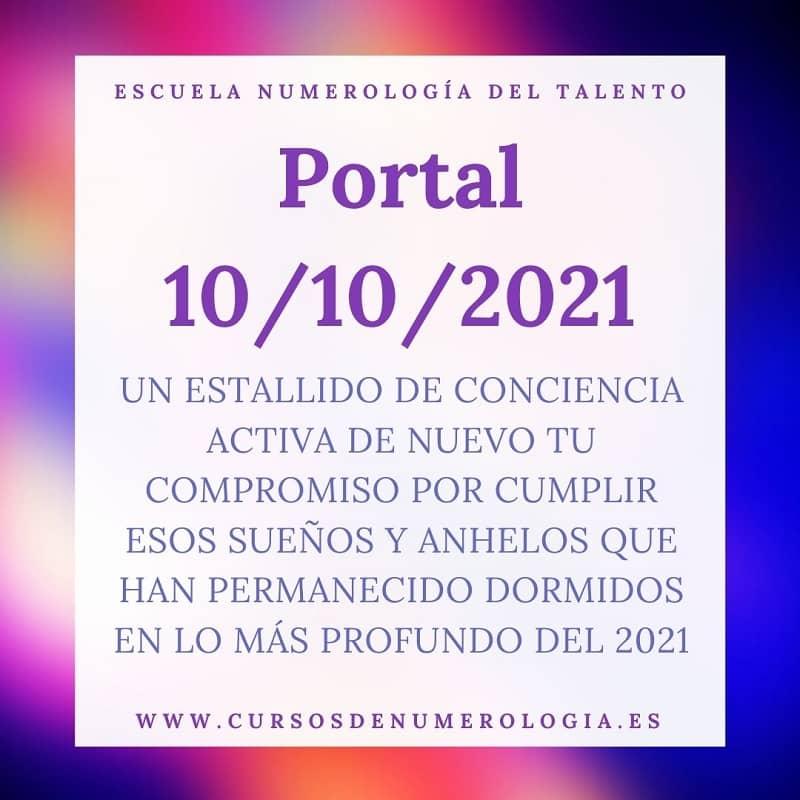 numerologia portal 10-10-2021